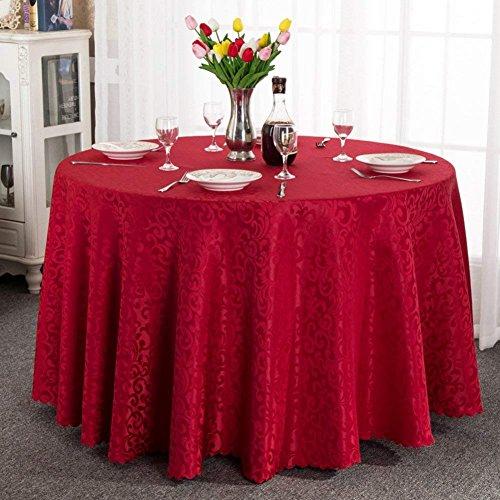 PLLP [High-End European-Style Wallpaper Table Cloth Luxury Luxury Fabric Table Cloth Table Cloth,G,180x180cm(71x71inch)