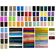 """Blackout Solid Color Curtains, Cafe style, 32 colors , Block Out Light, Thermal, Campers, RV, bathrooms, Kitchen, small windows, Basement, Tiers, Custom Size Avble, 24"""" or 30"""" Long. custom"""