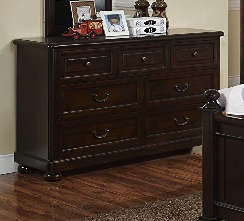 Canyon Dresser - New Classic 05-230-052 Canyon Ridge Youth Dresser, Chestnut