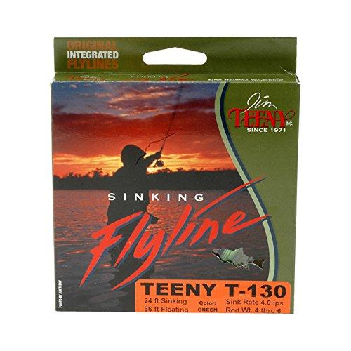 Jim Teeny T-300 24' Sink Tip with 66' Orange Floating Line