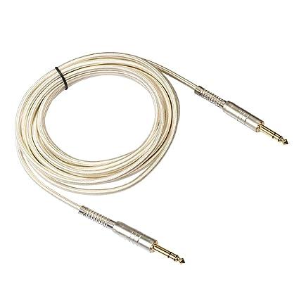 Cable de Amplificador de Audio de Guitarra Eléctrica Reducción de ...