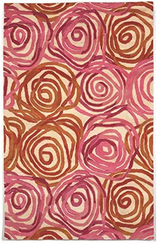 Liora Manne Tivoli Rambling Rose Area Rug