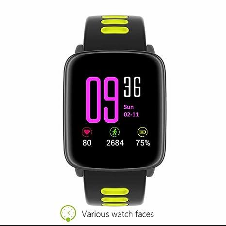 IP68 Agua Densidad Fitness pulsera actividad Podómetro Pulso Relojes pulsera de fitness con SMS Push Estimada