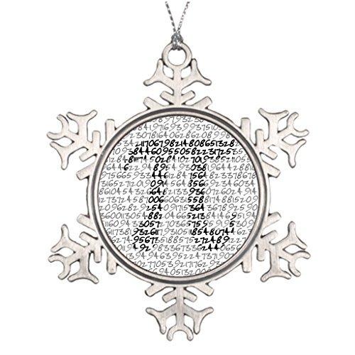 Metal Ornaments Circumference Research Tree Branch Decoration Customized Christmas Snowflake (Halloween Walt Disney World 2017)