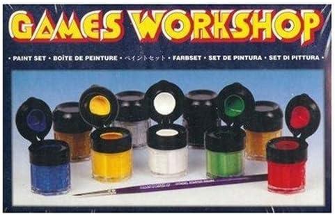 Games Workshop Caja Set De Pinturas Warhammer: Amazon.es: Juguetes y juegos