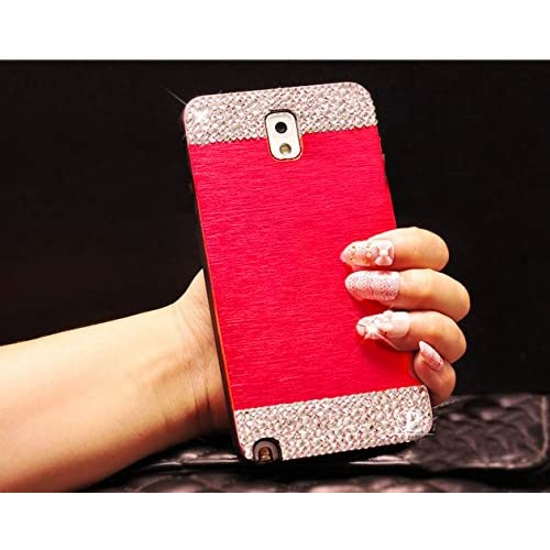 durable modeling Galaxy S6 edge Case,Beauty Luxury Diamond Hybrid Glitter 3D Bling hard Shiny Sparkling with Crystal Rhinestone Brushed Metal Aluminum PC Back Cover Case for Samsung Galaxy S6 edge + Bonus Top Selling Logo Stylus (Samsung Gala