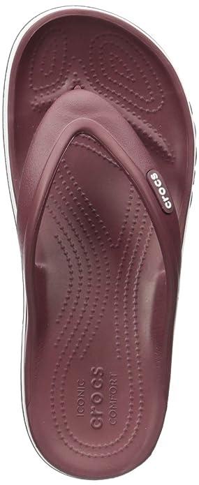 Buy crocs Bayaband Unisex Maroon Flip