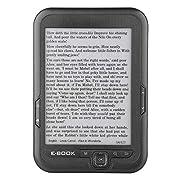 E-Reader,Portable E-Paper E-Ink 6 inch E-Reader E-Book Reader Paperwhite E-Book Reader (Gray 4GB)