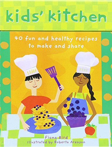 Kid's Kitchen: 40 Fun and Healthy Recipes to Make and - Fun Cards Food Nutrition