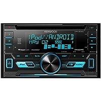Kenwood DPX302U 2-DIN CD Receiver w/Front USB & Aux (Certified Refurbished)