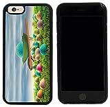 wheel barrow cover - Rikki Knight Case Cover for iPhone 6/6s - Blue Easter Egg Wheelbarrow Spring Color Easter Eggs Design