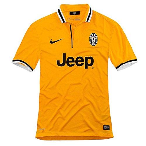 4c141aaec new Rare 13-14 JUVENTUS HOME Football Shirt YELLOW Soccer Jersey LARGE Size