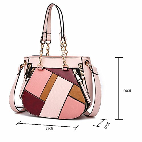Messenger Women Classic Brown Crossbody Satchel FZHLY Strip High Quality Package Handbags Color Designer Shoulder for Bags nIOSq
