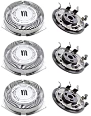 NewZC 3pcs SH50 Replacement Shaver Head for Philip Series 5000