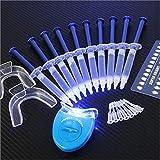 (US) EHM ALTA AURA GLOWZ Teeth Whitening Kit (10) ALTA AURA Gels (2) Trays (1) AURA BLUE White LED Light