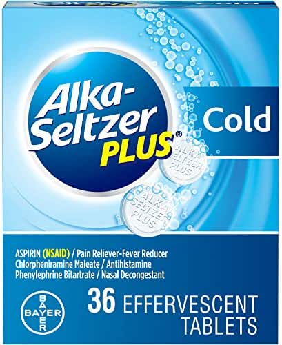 Digestion & Nausea: Alka-Seltzer Plus Cold