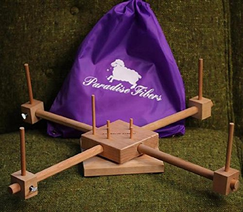 Paradise Fibers Super Swift II (Maple) - With 2 speed capability, great tension control, and fully collapsible for easy storage by Paradise Fibers
