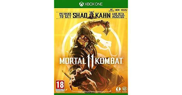 Warner Bros Mortal Kombat 11 vídeo - Juego (Xbox One, Lucha, Modo multijugador): Amazon.es: Videojuegos