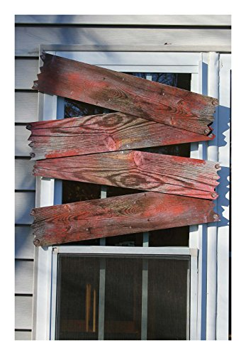 (Fun World Haunted Window Boards - Blood Stains Standard)