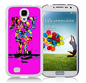 Fashionable And Beautiful Designed Case For Samsung Galaxy S4 I9500 i337 M919 i545 r970 l720 With Nike 16 White Phone Case