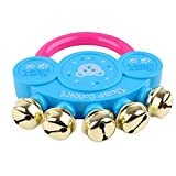 TRENDINAO 2017 New Design Handbell Musical Instrument Jingle Rattle Toys for Kids Baby