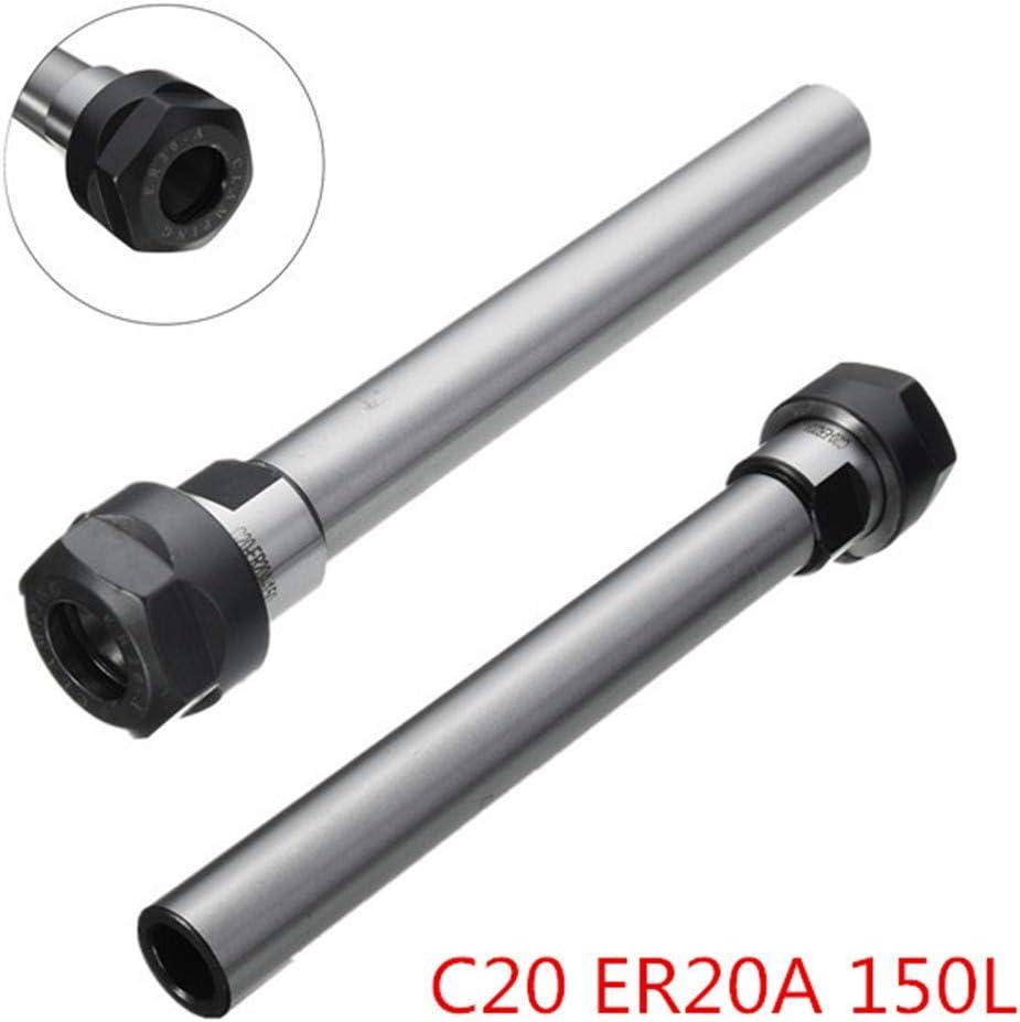 C12 16A-100L belupai ER11 /à ER25 Porte-collet /à queue droite C8 /à C20 CNC Outil de tour /à fraiser