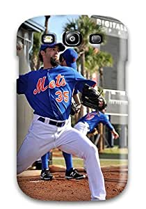 DanRobertse Perfect Tpu Case For Galaxy S3/ Anti-scratch Protector Case (new York Mets ) by kobestar