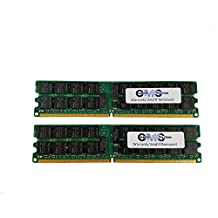 8GB (2x4GB) Memory RAM DDR2-667 PC2-5300 ECC Registered for Dell PowerEdge T300 by CMS (B49)
