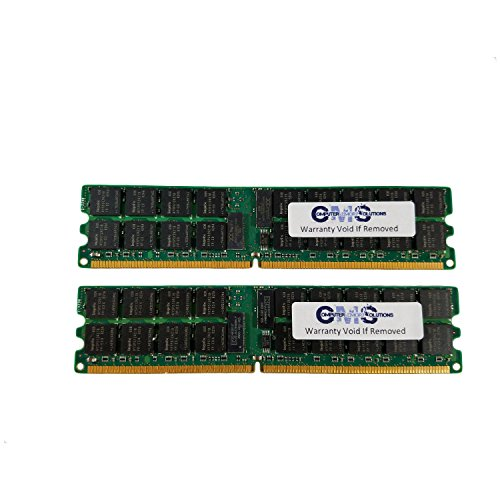 8Gb (2X4Gb) Memory Ram Compatible with Dell Precision Workstation 670 Dual Rank For Servers Only By CMS (B47) - Precision Workstation 670