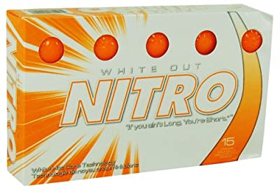 Nitro White Out Golf Balls by Nitro