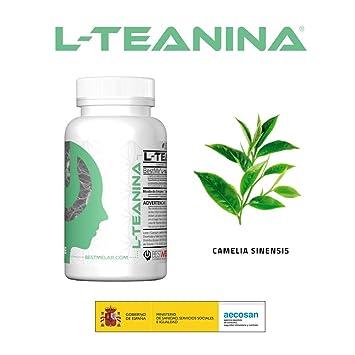 Bestme L-teanina 200mg. Alivio de la Ansiedad y Estrés . Mejora ...