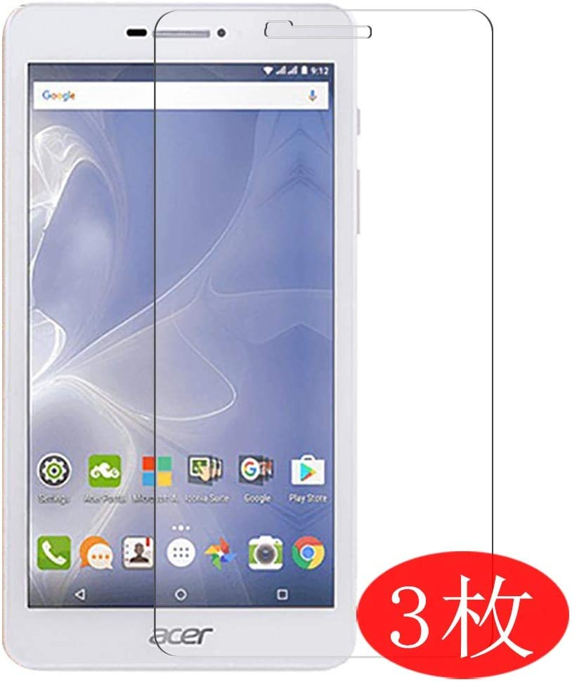 "【3 Pack】 Synvy Screen Protector for Acer ICONIA Talk 7 B1-733 7"" TPU Flexible HD Film Protective Protectors [Not Tempered Glass]"