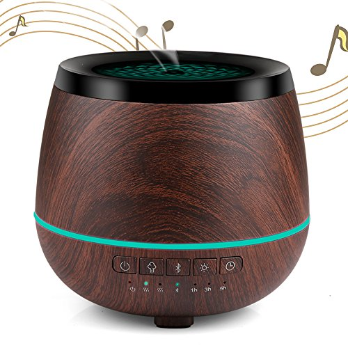 Aromatherapy Essential Oil Diffuser 200ml with Bluetooth