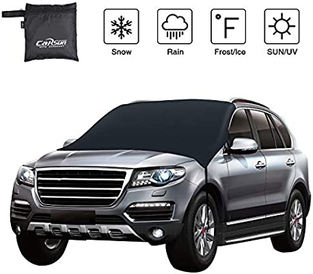 LuchinoVisconti The Sandlot Car Windshield Snow Cover,Durable Sun Shade Snow,Ice,Frost Protector Waterproof for Cars,SUV Truck Car Insulation Shade Universal Type