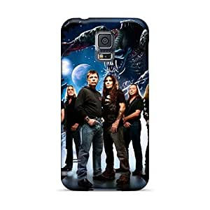 High Quality Mobile Cases For Samsung Galaxy S5 With Unique Design Colorful Iron Maiden Band Image AaronBlanchette