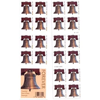 USPS Forever Stamps Liberty Bell 100 5 Books Of 20