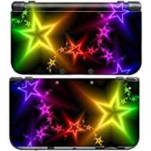 NEON STARS for New Nintendo 3DS New3DS N3DS Skin Decal Sticker Vinyl Cover + Screen Protectors