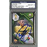 Trading Card Neymar AUTO 10 GEM MINT - PSA/DNA Certified - Autographed Soccer Cards