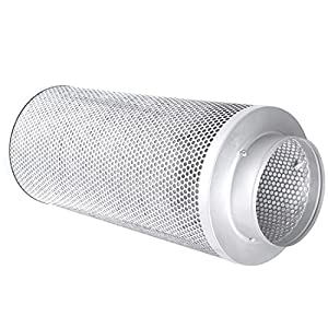 """6"""" Carbon Charcoal Filter Odor Control Scrubber Fit Grow Light Tent Fan US [ 6"""" Flange ]"""