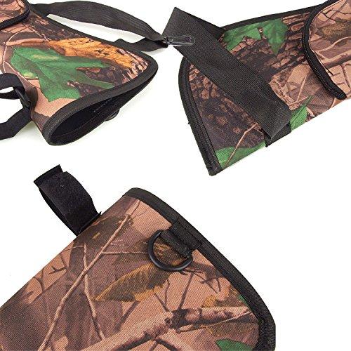 Vococal - Bogenschießen Pfeil Köcher Storage Halter - Portable Pfeil Rückseitige Taille Hängenden Schnalle Taschen