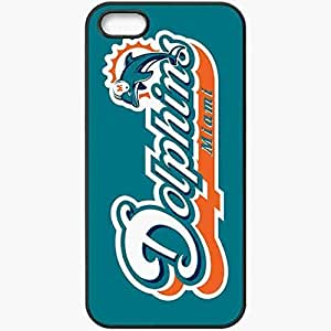 Personalized For Ipod Touch 5 Case Cover Skin 1392 miami dolphins Black