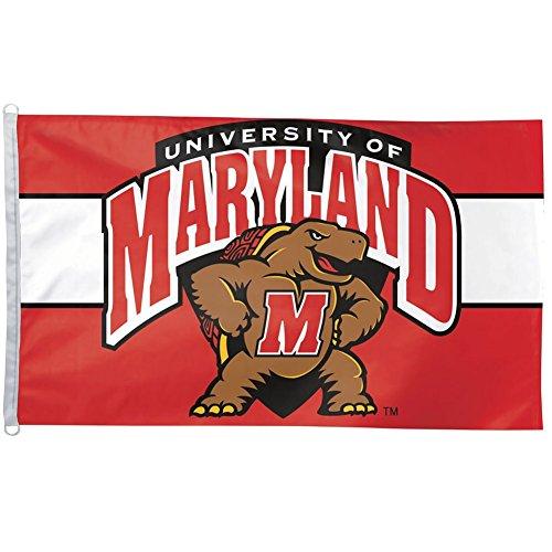 Maryland Terrapins - Logo 3x5 Flag