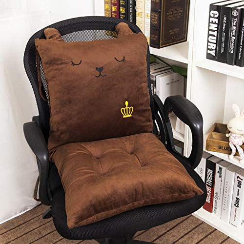 JiaQi Indoor Universal Rocking Chair,Thicken Plush Seat Cushions,Tatami Soft One-Piece Chair pad Tailbone Pain Back Pain-G 40x80cm(16x31inch)