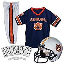 Franklin Sports NCAA Auburn Tigers Deluxe Youth Team Uniform Set, Small