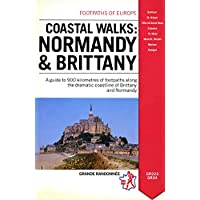 Coastal Walks: Normandy and Brittany (Footpaths of Europe)