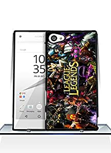 Sony Z5 Compact Funda Case, Game - League Of Legends Impact Resistant Durable Aesthetic Personalized Style Anti Dust Extra Slim Compatible with Sony Xperia Z5 Compact [Just fit for Z5 Compact]