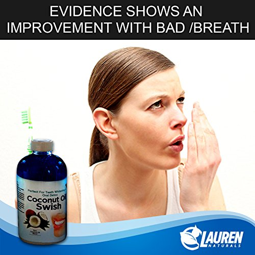 photo Wallpaper of Lauren Naturals-Coconut Oil Pulling And Mouthwash:-
