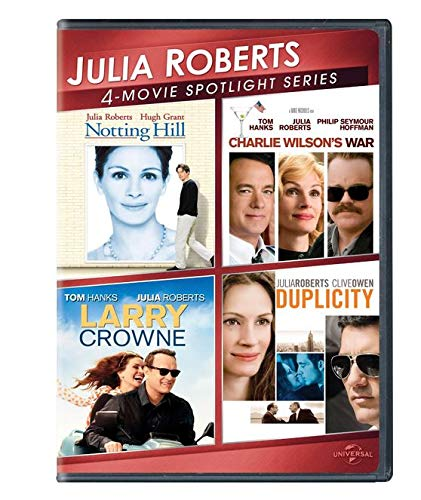 Notting Hill / Charlie Wilson's War / Larry Crowne / Duplicity DVD Julia Robert