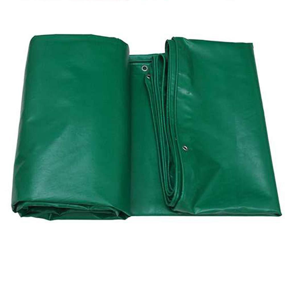 シンプルな家庭の緑と強い丈夫な防水シート防水ターポリン FENGMIMG (色 : Green, サイズ さいず : 3*3m) 3*3m Green B07L2H5C6V