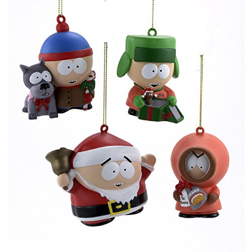 Kurt S. Adler South Park Blow Mold Ornaments (set OF 4 As...